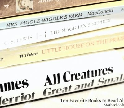 Ten Favorite Books to Read Aloud to Kids