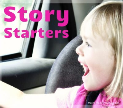 Waiting with Kids?  Try This Simple Activity (Story Starters)