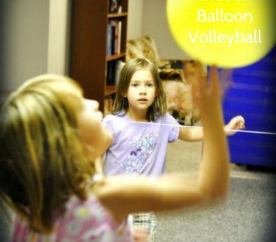 Indoor Balloon Volleyball