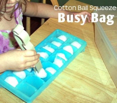 Montessori Monday–Another Pincer Grasp Idea