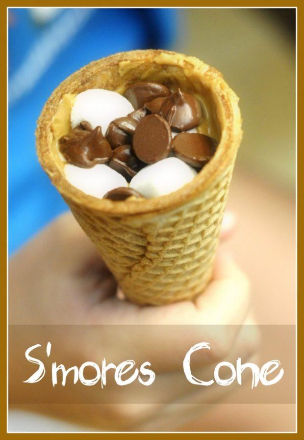 Smores Cone Oven Variation Of Campfire Cones