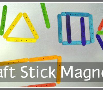 Craft Stick Magnets