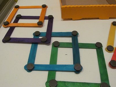 DIY Magnetic Craft Sticks