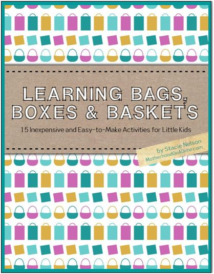 learning bags, busy bags