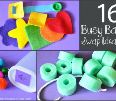 16 Busy Bag Ideas for a Busy Bag Swap