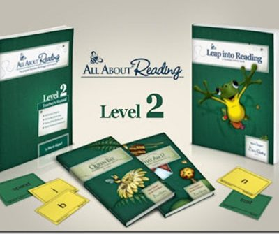 Save 10% on All About Reading Level 2 (Through October 8, 2012)