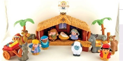 Expired Fisher Price Little People: A Christmas Story Nativity - Kids Activities | Saving Money ...