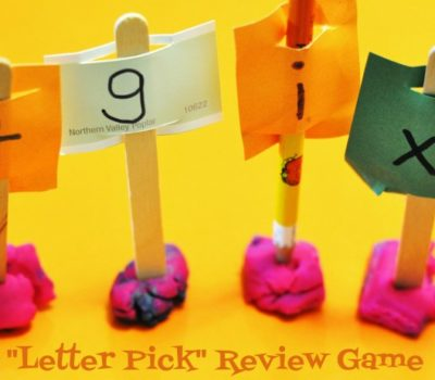 """Letter Pick"" Review Game"