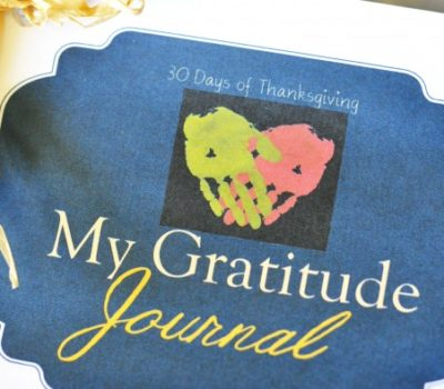 30 Days of Thanksgiving:  Printable Gratitude Journal