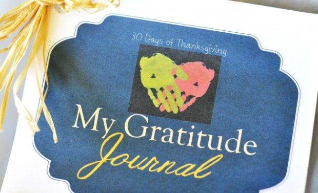 30 Days of Thanksgiving: Printable Gratitude Journal - Kids ...