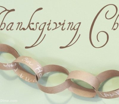 Thanksgiving Chain: A Simple Gratitude Activity for Families