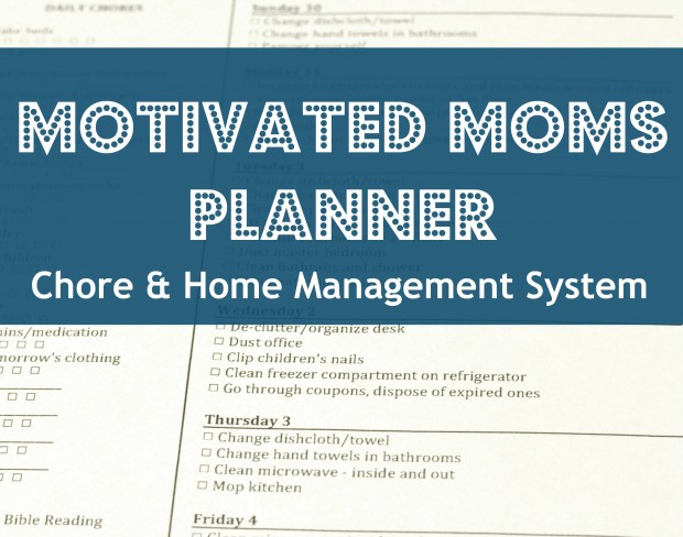 motivated moms planner