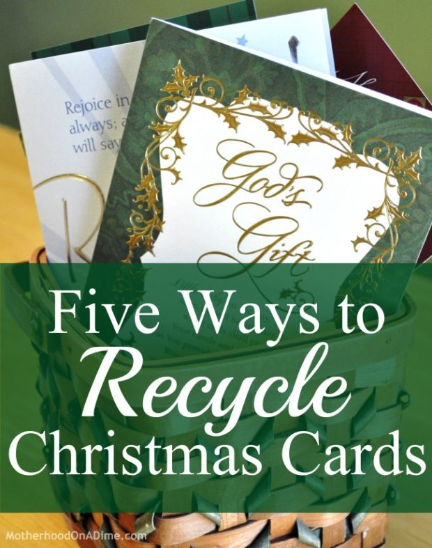 Five Ways to Recycle Christmas Cards - Kids Activities | Saving ...