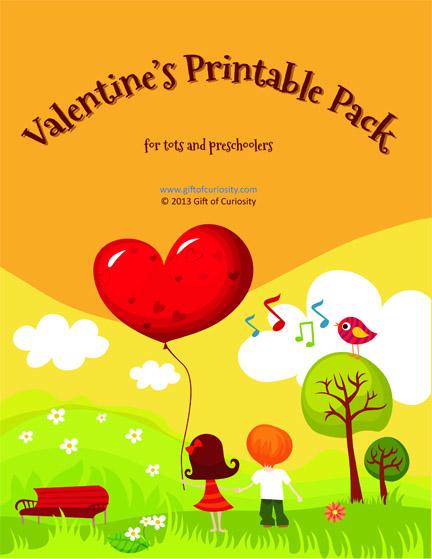 ~~ Valentines printable pack TOC