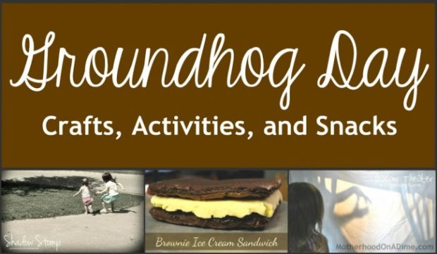 groundhog day crafts activities and snacks