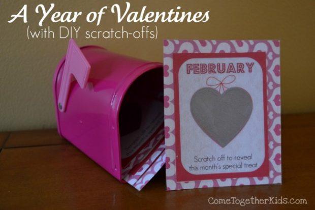 valentine scratch-offs