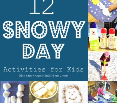 12 Activities for Little Kids on a Snow Day