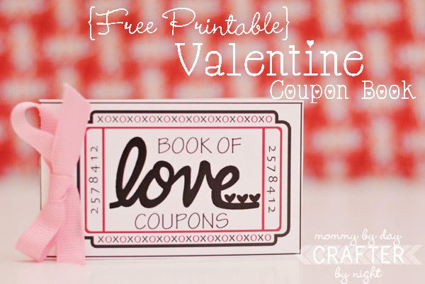 free printable valentine booklet