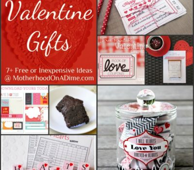 Free & Inexpensive Homemade Valentine Gift Ideas