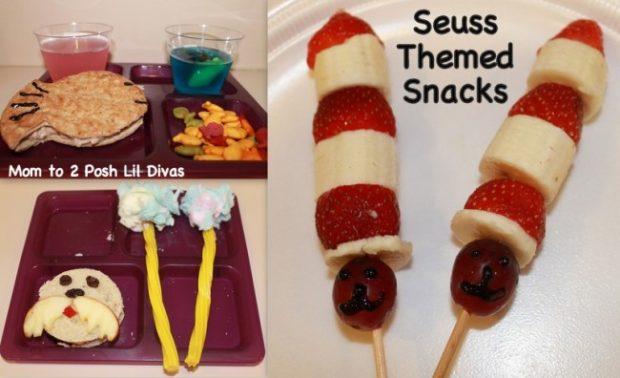 seuss themed snacks