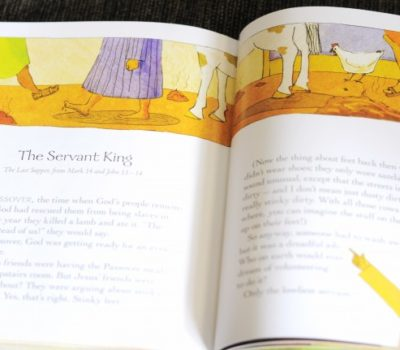 God's Little Explorers:  Week 25 (S is for Servant/Community Helpers + The Last Supper)