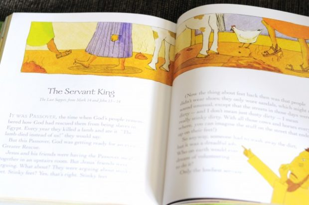 the servant king jesus bible storybook