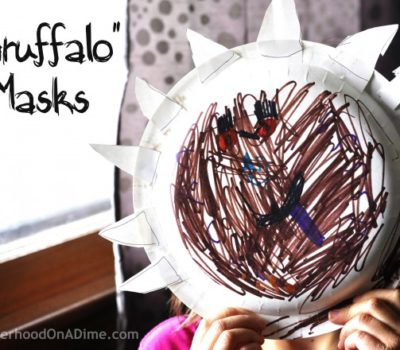 Gruffalo by Julia Donaldson:  Monster Mask Activity