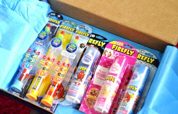 FireFly Ready Go Brush and Foam Toothpaste Review