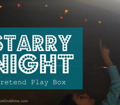"Pretend Play:  ""Starry Night"" Box"