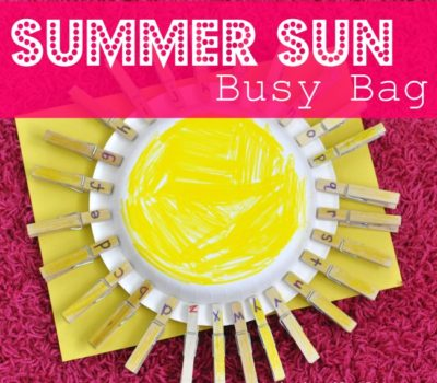Summer Sun Busy Bag