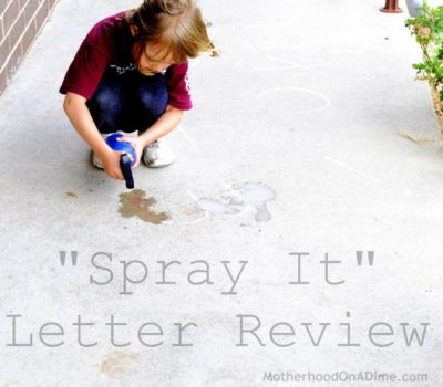 """Spray It"" Letter Review"