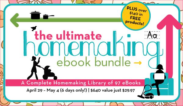 ultimate homemaking eBooks bundle