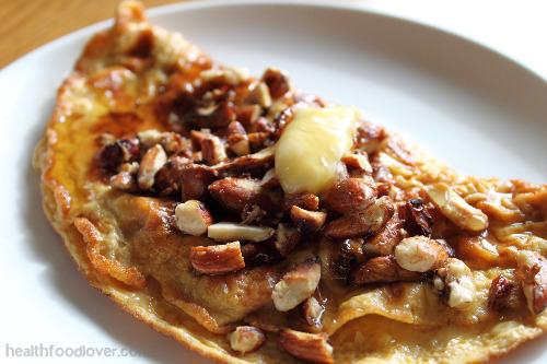 sweet breakfast omelette