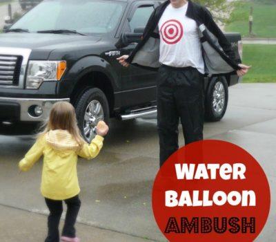 Water Balloon Ambush