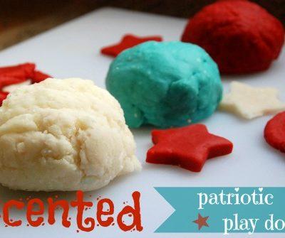 Patriotic Scented Play Dough Recipe