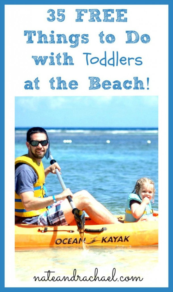 35 things to do with toddlers at the beach
