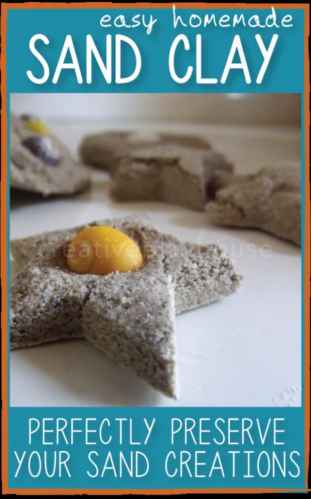 Easy Homemade Sand Clay
