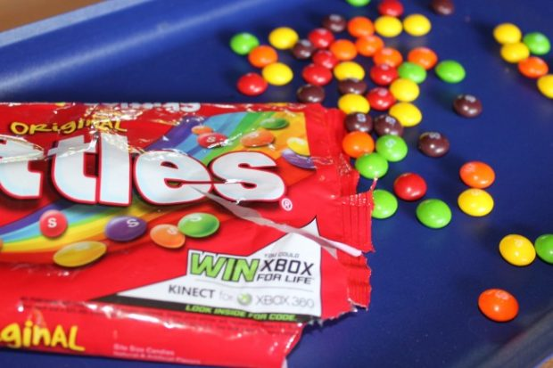 Skittles Easy Party Game Idea