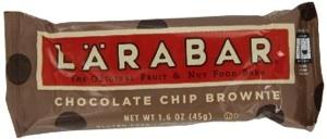 Larabar Gluten Free Chocolate Chip Brownie Bars – $0.65 Each (16 Count Pack)