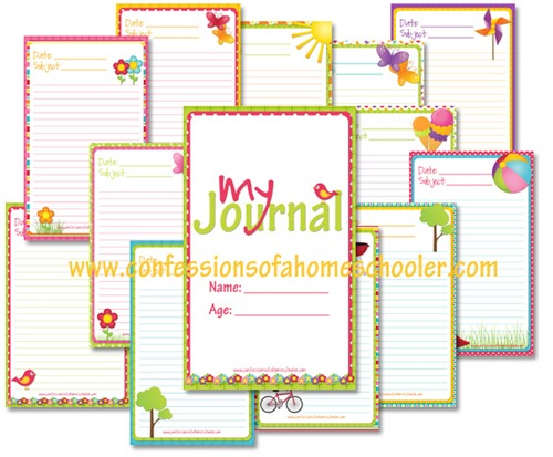 FREE Journal Printables for Kids - Kids Activities | Saving Money