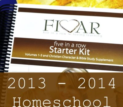 Our Homeschool Curriculum for 2013 – 2014