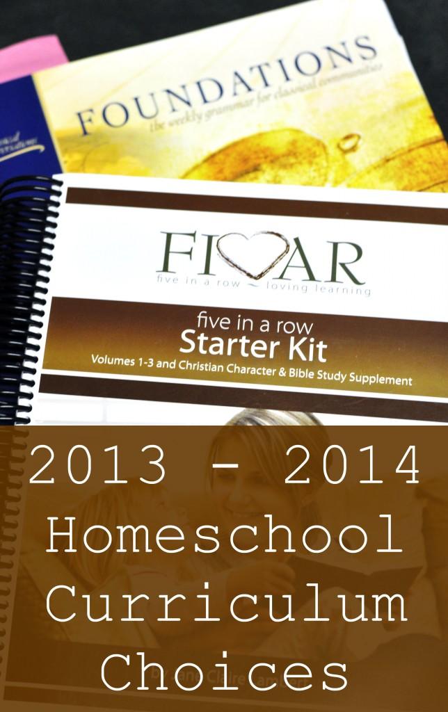 Homeschool Curriculum Choices at MotherhoodOnADime.com