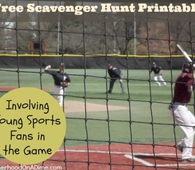 Involving Young Sports Fans in the Game with Free Scavenger Hunt Printable