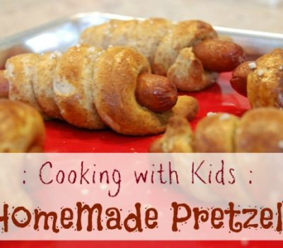 Making Homemade Pretzels with Kids