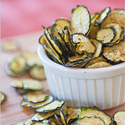 Salt & Pepper Zucchini Chips
