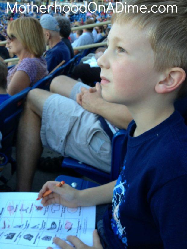 baseball scavenger hunt 2