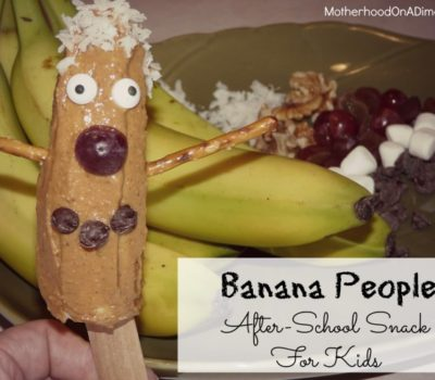 Banana People:  After-School Snack for Kids