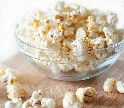 """Cheesy"" Taco Popcorn (Gluten-Free, Dairy-Free)"