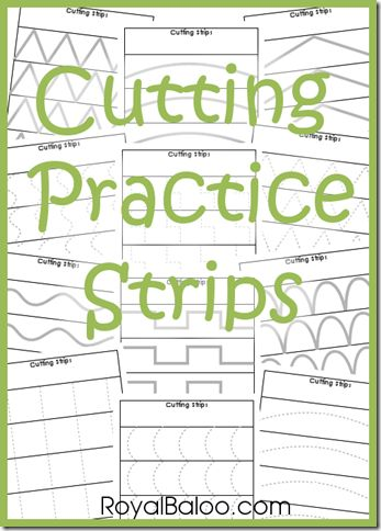 cutting practice strips