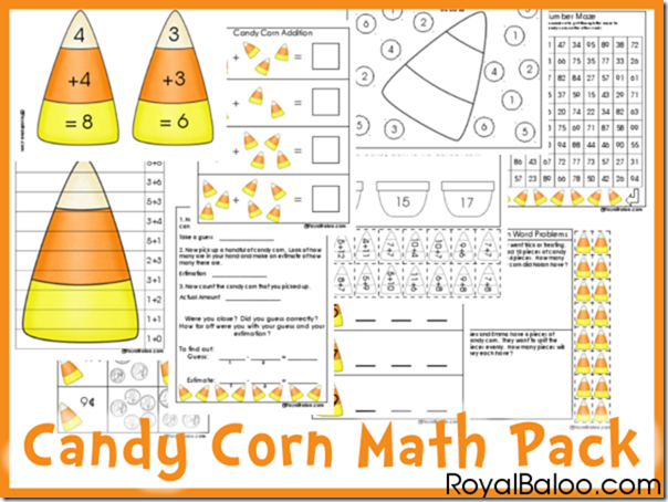 Candy Corn Printable Pack